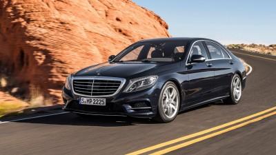 Mercedes-Benz S-Klasse в движении