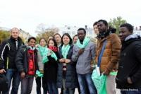 Студенты из 15 стран призвали к безопасности на дороге