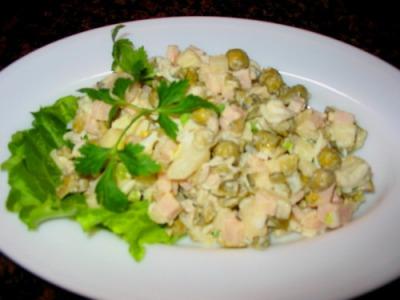 Рецепт приготовления салата «Оливье», ингредиенты и фото блюда