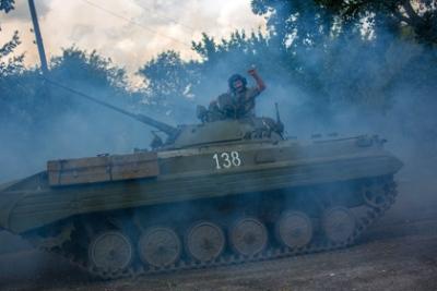 Ополченцы отступили от аэропорта Донецка
