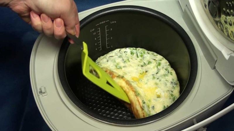 Омлет на пару как готовить в пароварке пошаговое инструкция